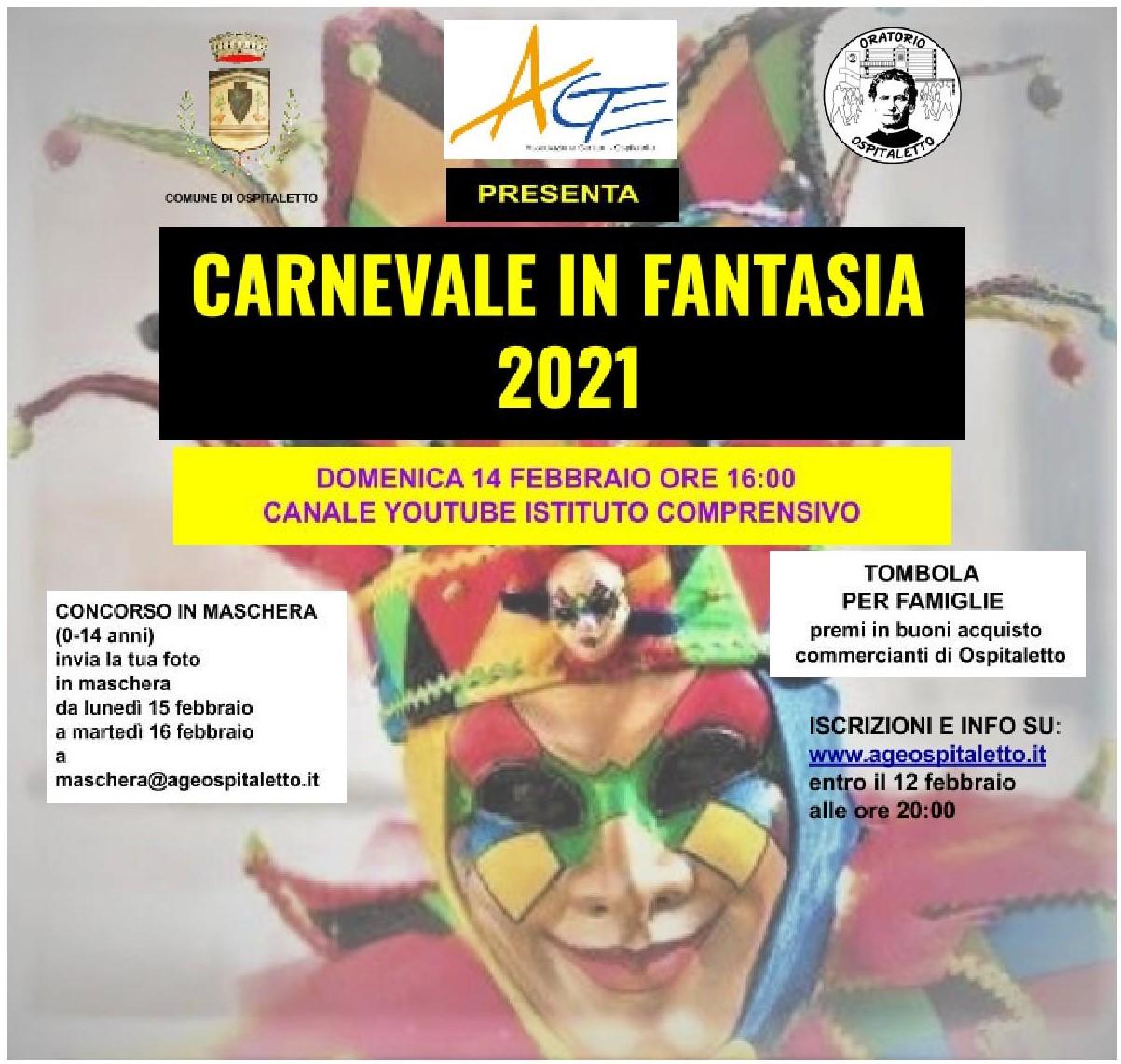 Carnevale in Fantasia 2021